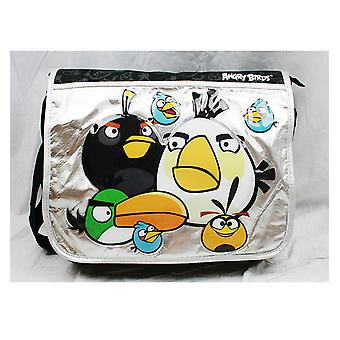 Bolsa de mensajero - Angry Birds - Big White Bird New School Book Bag an10893