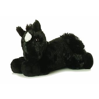Mini-Flopsie 8-Zoll-schwarzes Pferd