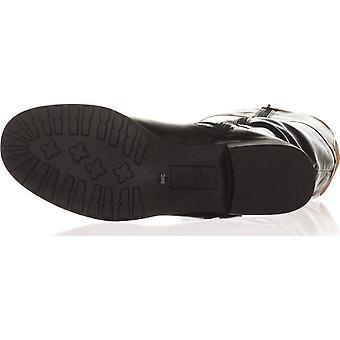 شركة & نمط المرأة اللوز فنصة تو الركبة عالية أزياء أحذية