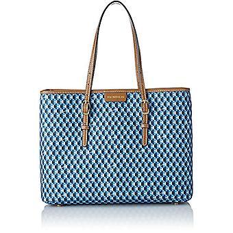 Mac DouglasEVERTON PALOMA - Blue Women's Crossbags (Diamant Bleu Marron SDBM)) Taille: M /15x26x35 cm (W x H x L)