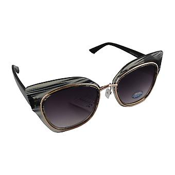 Sunglasses UV 400 Cat Eye black Wit1844_1