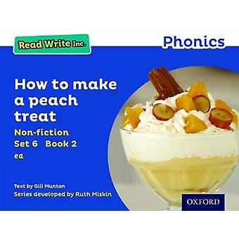 Læse skrive Inc. Phonics - sæt blå 6 Non-Fiction 2 hvordan man laver en fersken