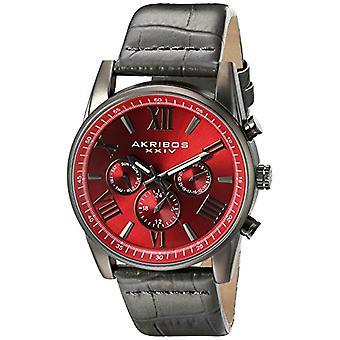Akribos XXIV Clock Man Ref. AK911RD, DUP