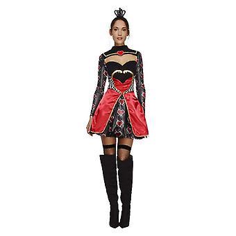Womens-Königin der Herzen Kostüm