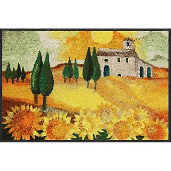 Rosina Wachtmeister Nuovo Girasole Salon Leeuw voet mat wasbaar 50 x 75 cm