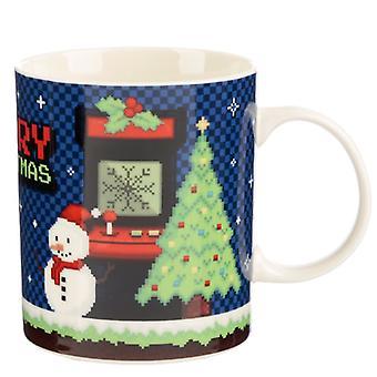 Puckator Merry Christmas Game Over Mug