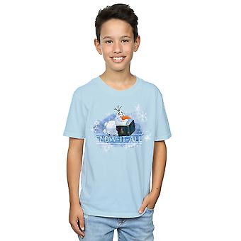 Disney Boys Frozen 2 Olaf Snow It All T-Shirt