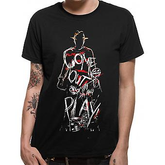 Nightmare On Elm Street-Come Out To Play T-Shirt