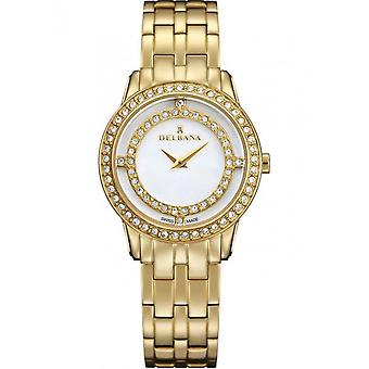 Delbana - Wristwatch - Ladies - Dress Collection - 42711.609.1.510 - Scala