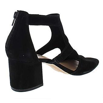INC Womens Helenn Suede Open Toe Dress Sandals