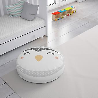 Meesoz Floor Cushion - Smiling Penguin