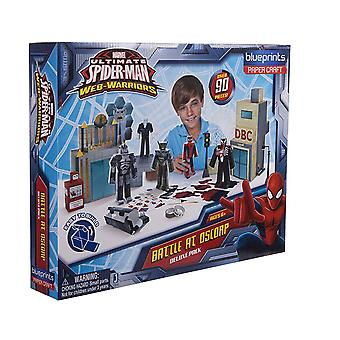 Jazwares Marvel Ultimate Spiderman Battle bei Oscorp Toy (Deluxe Pack)