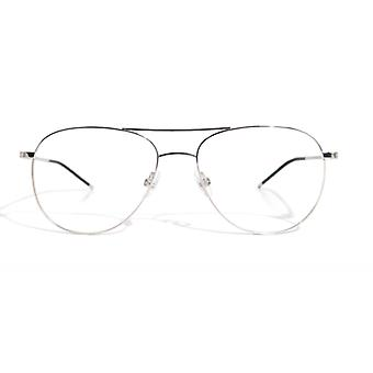 Gotti Damien SLS Shiny Silver Glasses