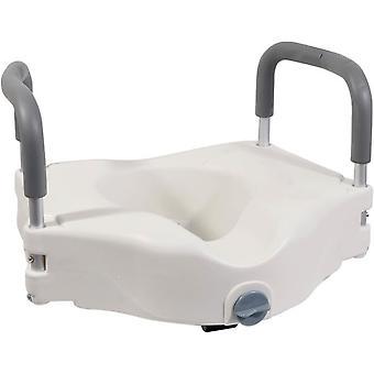 Aidapt toiletverhoger - met armsteunen - 15,2 cm