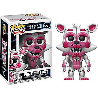 Fünf Nächte bei Freddy's Sister Location Funtime Foxy Pop!