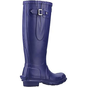 Cotswold Dame Windsor Tall Wellington Boot Aubergine