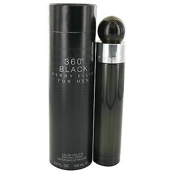 Perry ellis 360 black eau de toilette spray by perry ellis 425842 100 ml