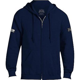 Grunt stijl Basic full zip hoodie 2,0-Navy