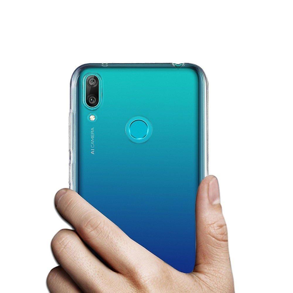 iCoverCase | Huawei Y7 2019 | Transparent Skal