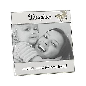 Shudehill Giftware Silver Plated Daughter 6 X 4 Photo Frame
