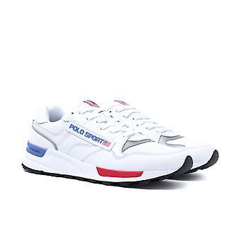 Polo Sport Tracker White Sport Trainers