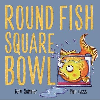 Round Fish Square Bowl by Tom Skinner & Illustrated by Mini Goss