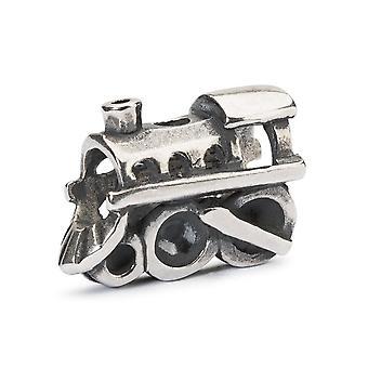 Trollbeads Locomotive Silver Bead