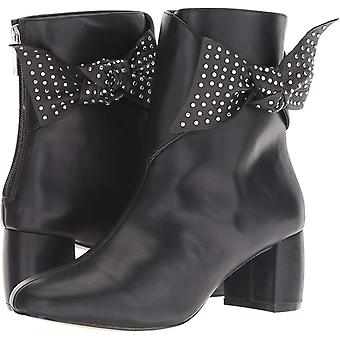 Nanette Lepore Womens NL18NAT01 Leather Closed Toe Ankle Fashion Boots
