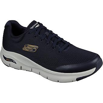Skechers Mens Arch Fit Slip On Lace Up Sports Trainers