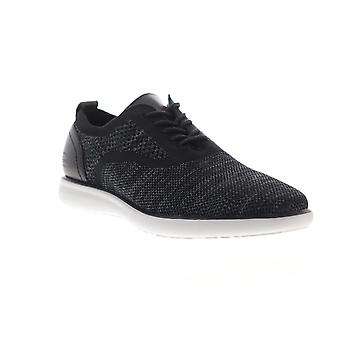 G.H. Bass Connor 2 Tone  Mens Black Mesh Casual Lace Up Oxfords Shoes