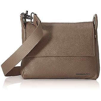 الماندرين بطة يانع حزام الجلود / الأسود رمادي حقيبة المرأة (أمفورا) 21x15x6cm (W x H x L)
