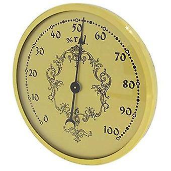 Hygrometer inserts with gold dial Ø80mm x Ø58mm