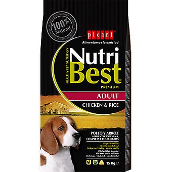Picart Nutribest Adult chicken and rice (Dogs , Dog Food , Dry Food)