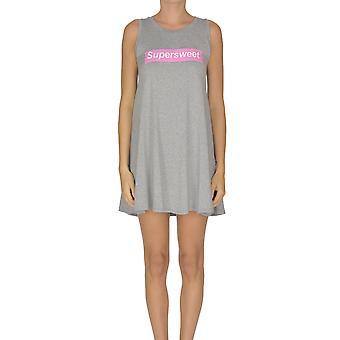 Sweet Matilda Ezgl314042 Women's Grey Viscose Dress