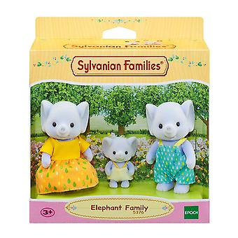 Sylvanian Families 5376 Elephant Family, Multi-Coloured