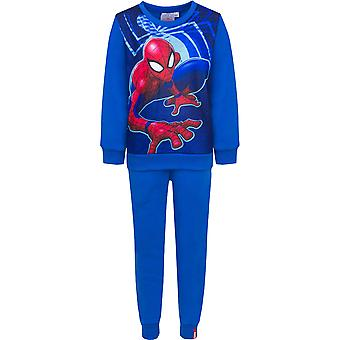 Spiderman boys tracksuit webslinger