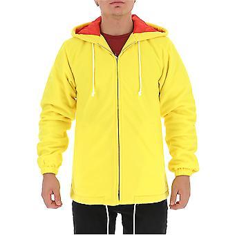 Comme Des Garçons Shirt W271733 Men's Yellow Polyester Outerwear Jacket