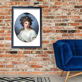 Angelica Kauffmann - Bacchantin Anagoria Poster Print Giclee