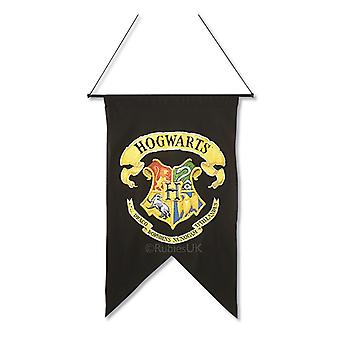 Hogwarts Printed Wall Banner. Size : One Size