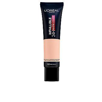 L'Oreal Make Up Infaillible 24h Matte Cover Foundation #110-rose Vanille für Frauen