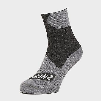 New Sealskinz Men's Waterproof All Weather Ankle Sock Black