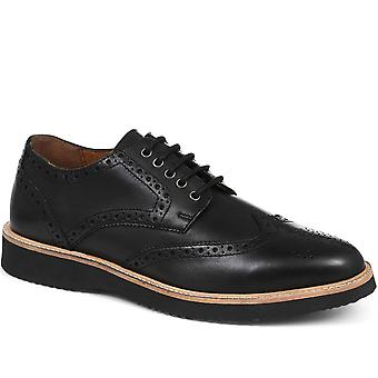 Jones Bootmaker Mens Casual Leather Derby Brogue