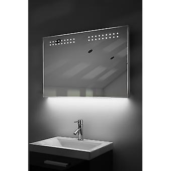 Ultraslankt spejl med underbelysning, Bluetooth, demist og sensor k14aud