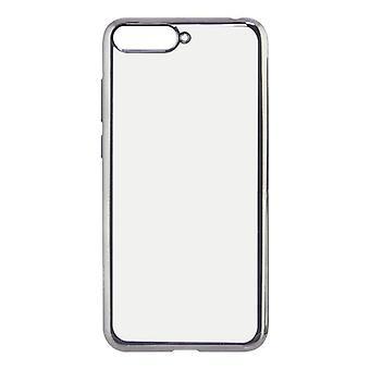 Mobile kansi Huawei Y6 2018 KSIX Flex Metal läpinäkyvä