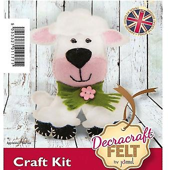 Buttons the Sheep Felt Sewing Kit