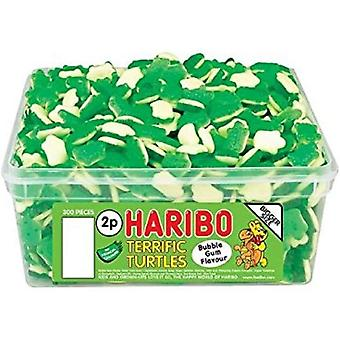 Haribo Terrific Turtles (300) Pieces 750g