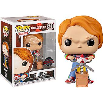 Child's Play 2 Chucky with Buddy & Scissors US Excl Pop!