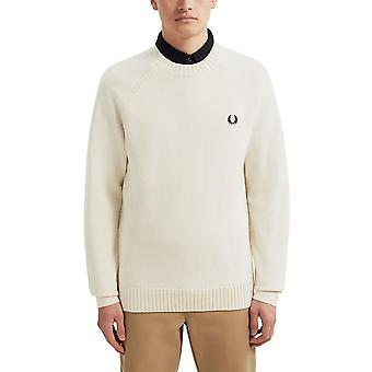Fred Perry Men's Contrast Texture Jumper