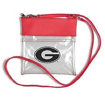Georgia Bulldogs NCAA Clear Gameday Crossbody Portemonnee