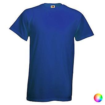 Unisex Short Sleeve T-shirt Frukt av Vävstol 149451/Röd /S
